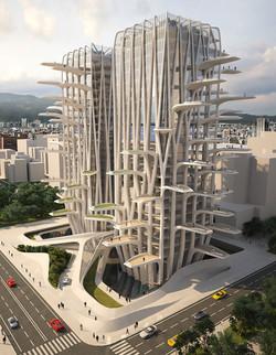 Agora Flower Tower