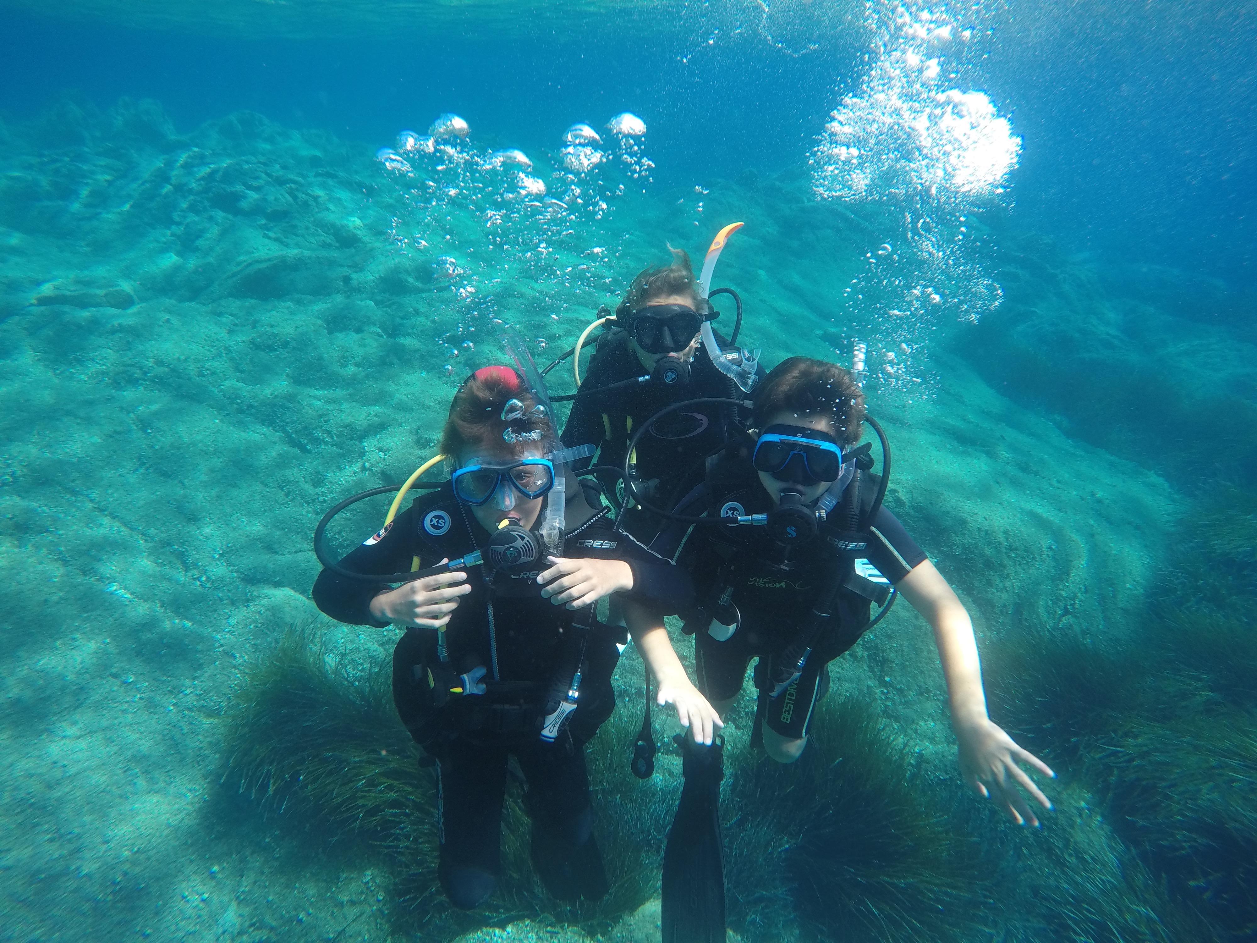 Corsi sub e immersioni per tutte le età