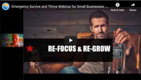 Emergency Survive & Thrive Webinar for Small Businesses - Steps to Adapt in the 2020 Pandemic