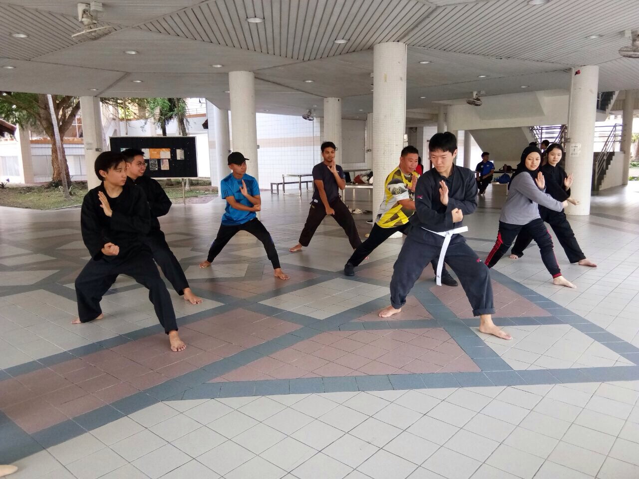 Titibatang - Silat Art Movements Training