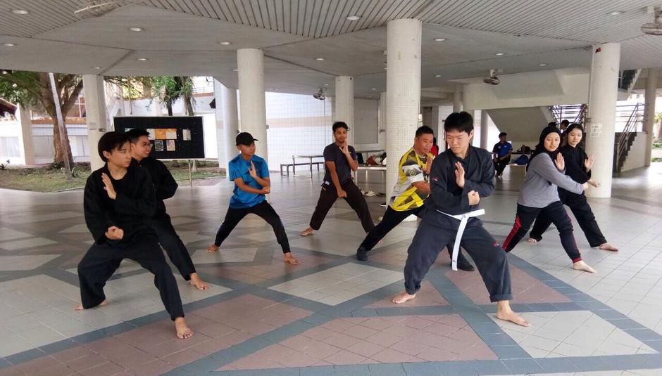 Titibatang - Silat Art Movements Training