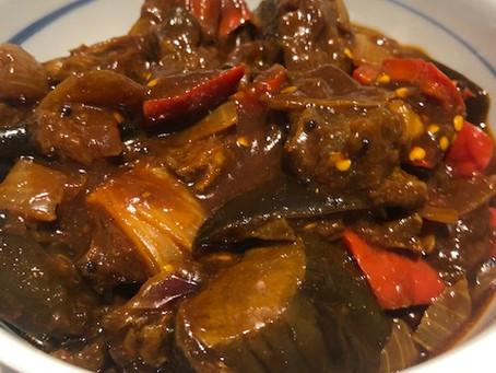 Nanna's eggplant curry