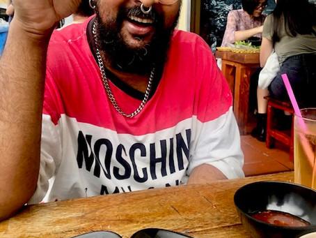 Eating with artists: Ramesh Mario Nithiyendran