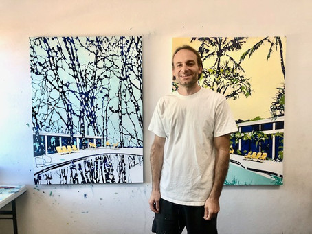 Eating with Artists: Los Angeles returned artist Paul Davies