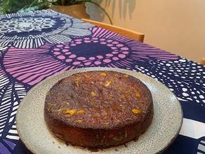 Nanna's Orange Drizzle cake: our family's first cake recipe
