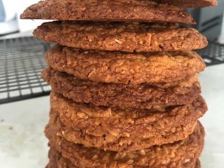 Lockdown lazy: coconut biscuits