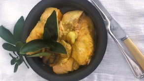 Finders Keepers: Persian fish with garlic and oranges