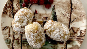 Finders Keepers: Silvia Colloca's Italian almond biscuits or ricciarelli for the holidays.