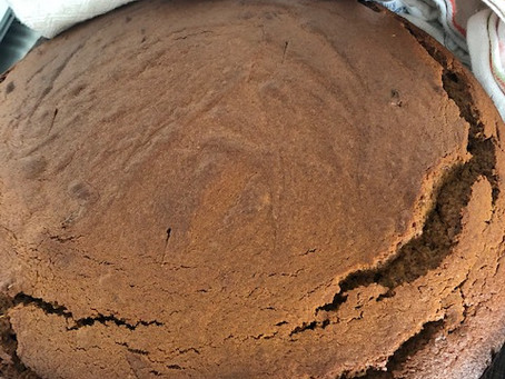 Finders Keepers: Golden Ginger (and Molasses) cake