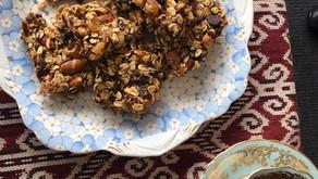 Munchy muesli treats for afternoon tea