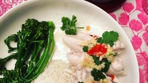 Hankering for Chicken Rice