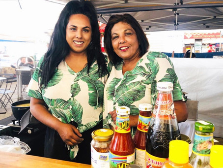 Three Questions: The Hopper Pan's  Sri Lankan market-stall chefs, Gail and Tasha