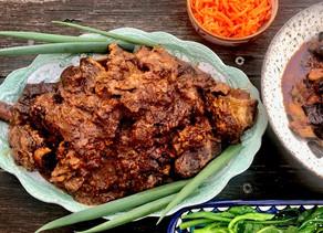 Galbi: Korean beef short rib