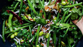 Finders Keepers: Yotam Ottolenghi's beans and curry leaf salad