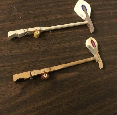 New Hammer (top), Old Hammer (bottom)