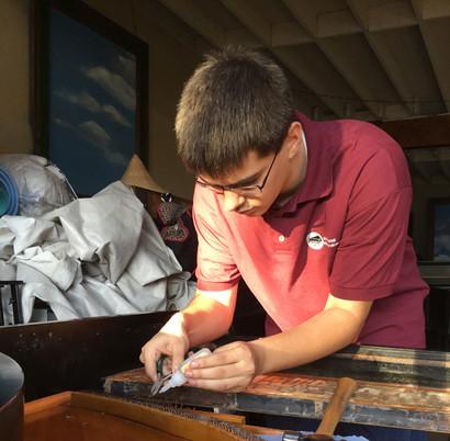 Repairing Bridge Pins