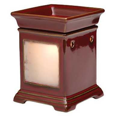 Classic Brick Red Gallery Scentsy Warmer (frame not included)