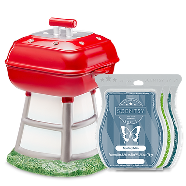 Backyard BBQ Scentsy Warmer