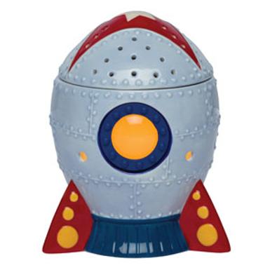 Blast Off Scentsy Warmer - Rocketship