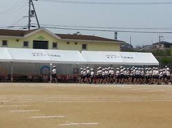 登美丘東小学校の運動会 2014.05.25