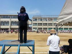 日置荘小学校運動会 201.06.01