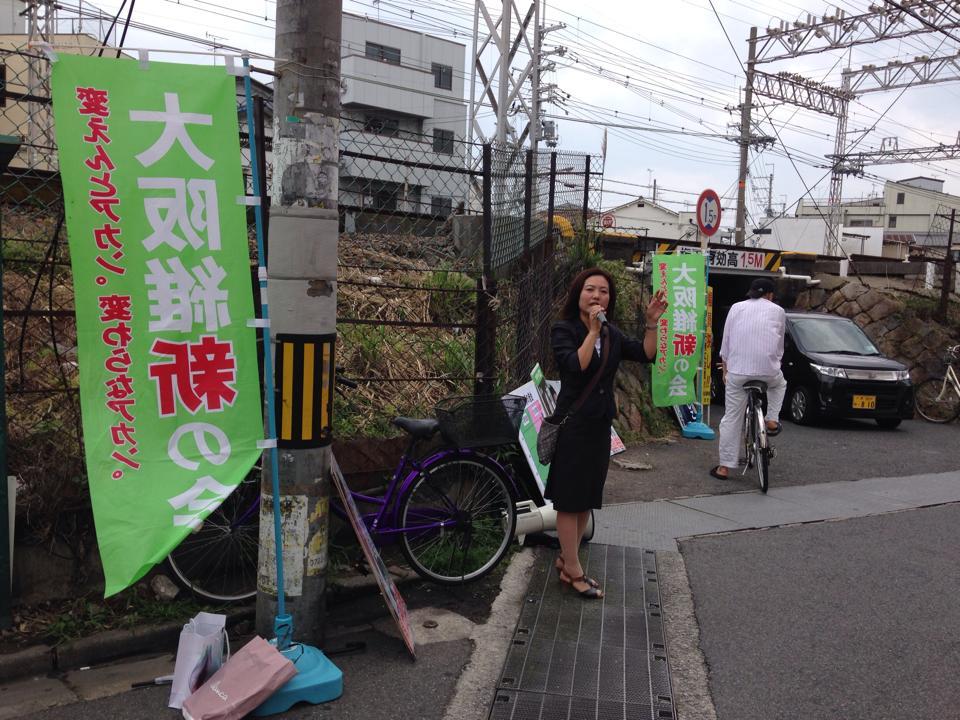 2014.07.13 都構想の日 統一行動デー