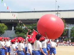 北小学校の運動会 2014.06.01
