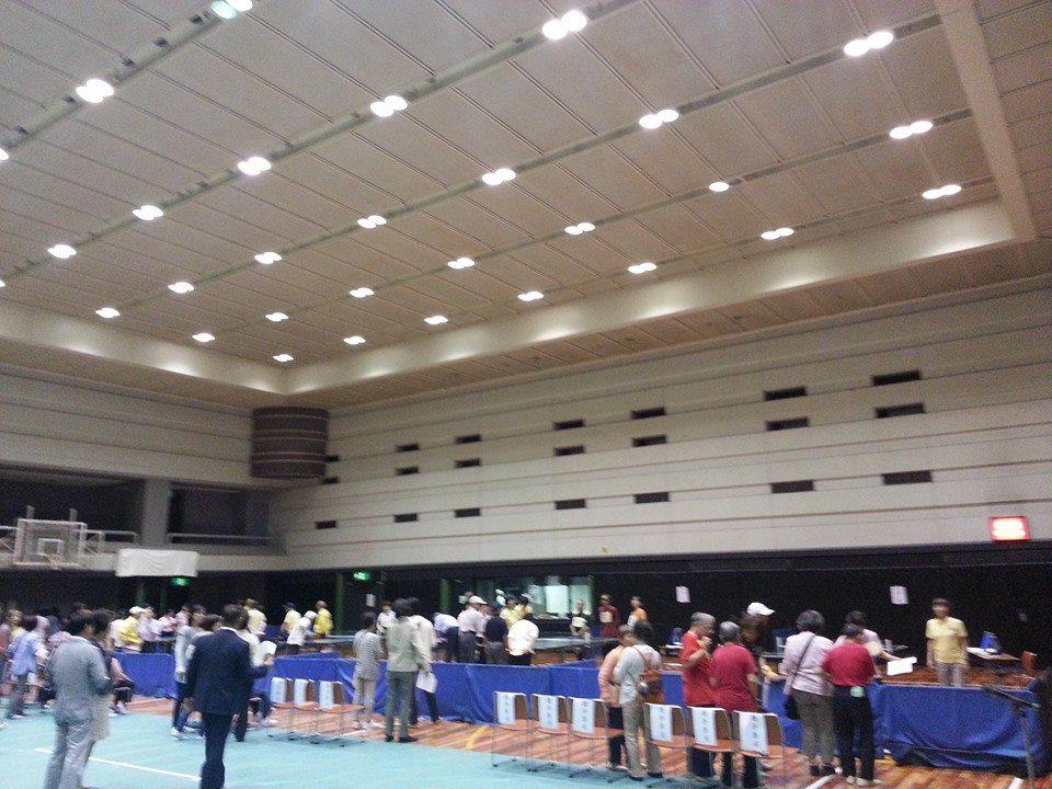 2014.07.04  第46回サウンドテーブルテニス大会