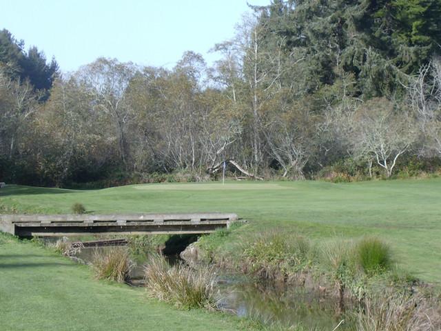 Golf Course Shots-Eureka Fall '08 Hole x