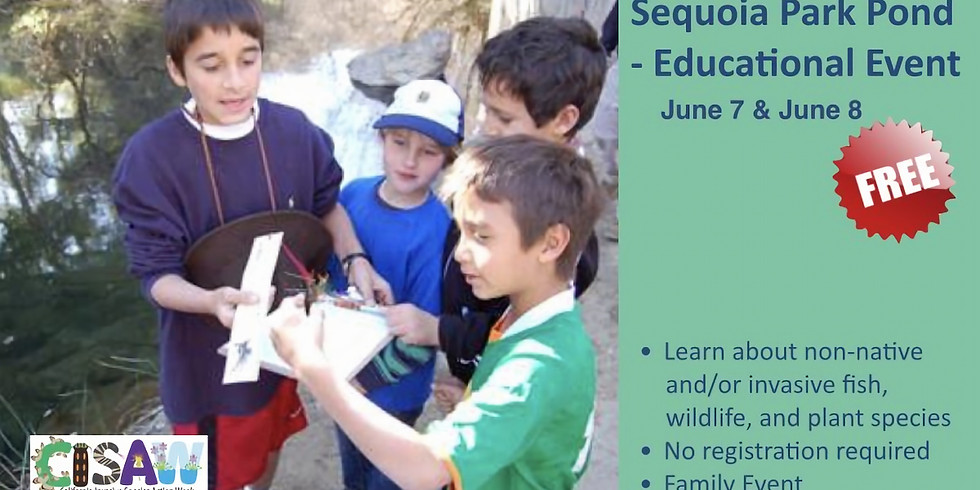 Sequoia Park Pond - Educational Event