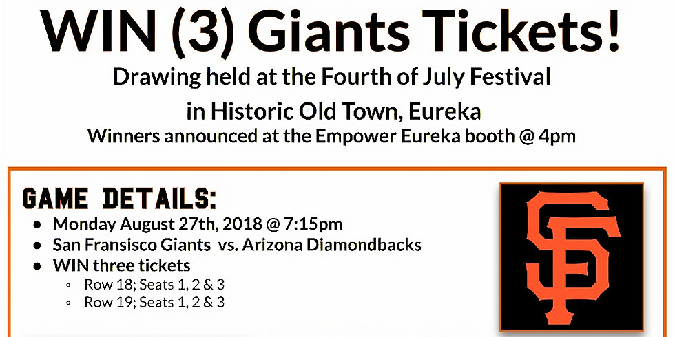 Giants Tickets Opportunity Drawing