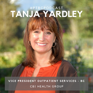 Tanja Yardley, Vice President of Outpatient Services for CBI Health Group.