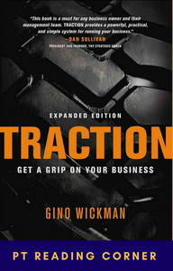 Traction: Get a grip on your business book cover