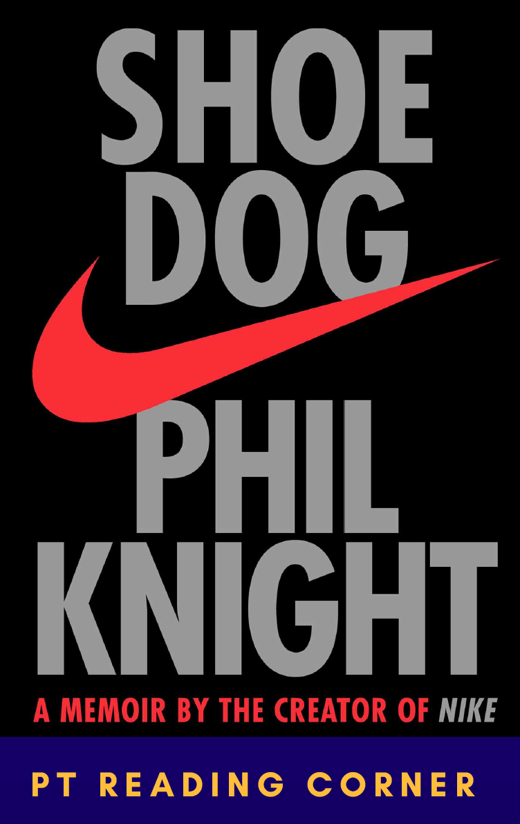 """Shoe Dog is a candid and riveting book by the founder of Nike, Phil """"Buck"""" Knight, highly recommended by our guests Dr. Jas Chahal and Joon Nah. The memoir describes the origins of the world-famous brand and begins in the 1960s when Knight begins to travel the world. He has one goal, to import high-quality and low-cost running shoes from Japan. Fueled by a dream, Shoe Dog describes Knight's journey filled with terrifying risks, ruthless competition and multiple triumphs. Keep reading for some lessons that you can learn from Phil Knight and his humble beginnings."""