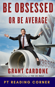 Book cover of Be Obsessed or Be Average