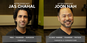 "Today's episode of ""Lessons Learned"" of PT Business Corner features Dr. Jas Chahal and Joon Nah of Therapia, which delivers home physiotherapy services."