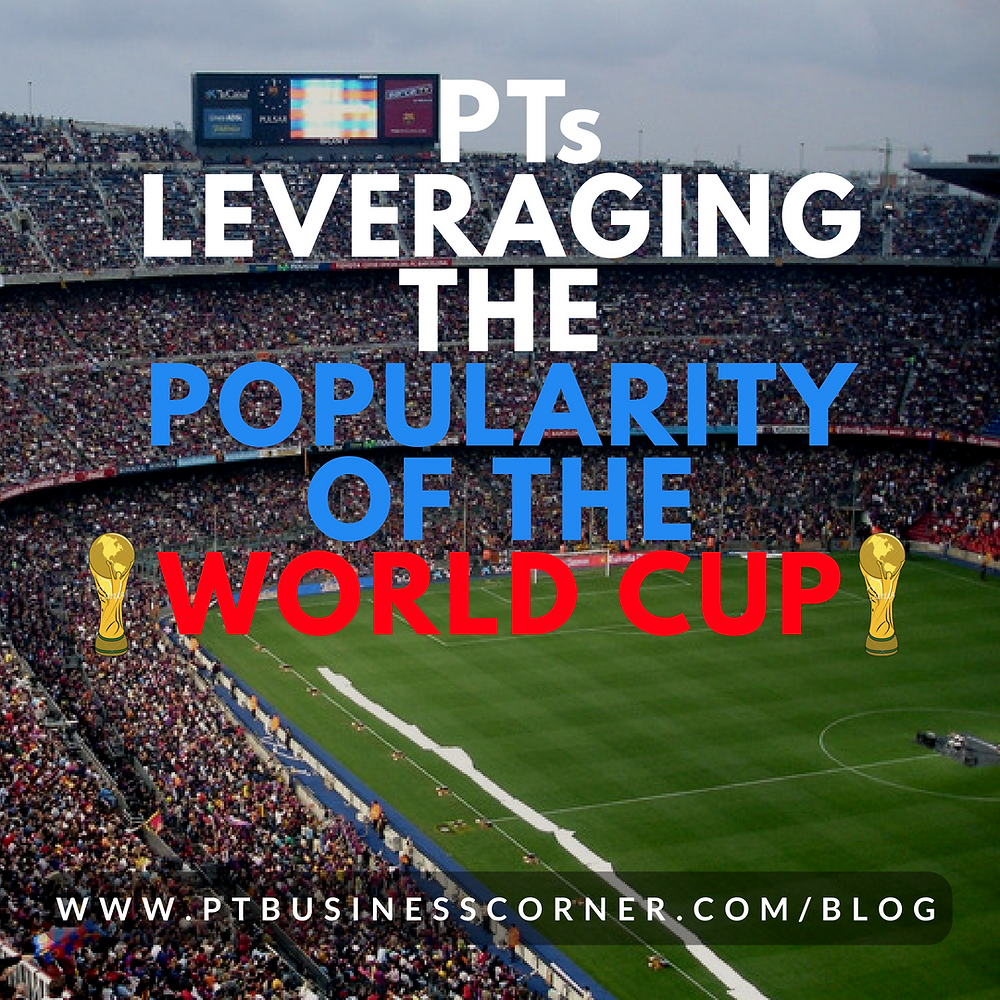 Physiotherapists Leveraging the popularity of the World Cup