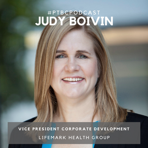 Judy Boivin the VP of Corporate Development in Lifemark Health Group