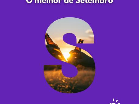 O Melhor de Setembro| AGENDA