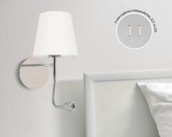 Arandela Quality Casual Light Cozy QAR1337CR