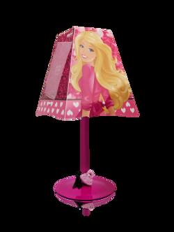Abajur Barbie Porta Retrato