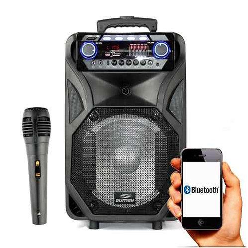 Caixa de Som Portátil Thunder Black Bluetooth SM-CAP12T