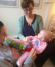 Cranial osteopathy for new born baby