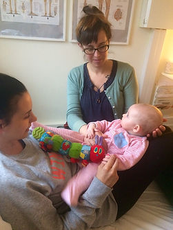 Cranial Osteopathy for mum and baby