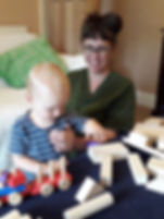 Gentle osteopathic treatment for toddler