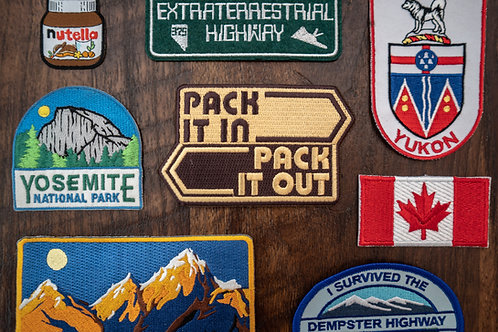 Pack It Out Patch