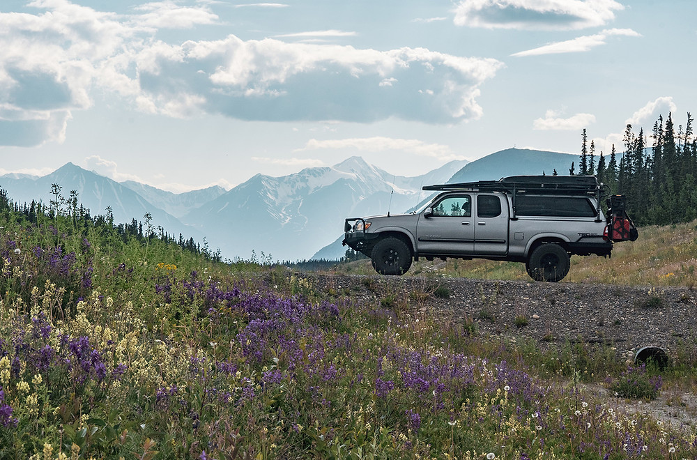 Alaska Hwy through the Yukon