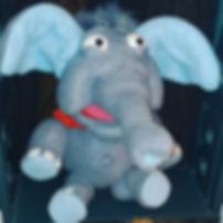 Jumbo the Elephant Finished Puppet on The Original Dummy