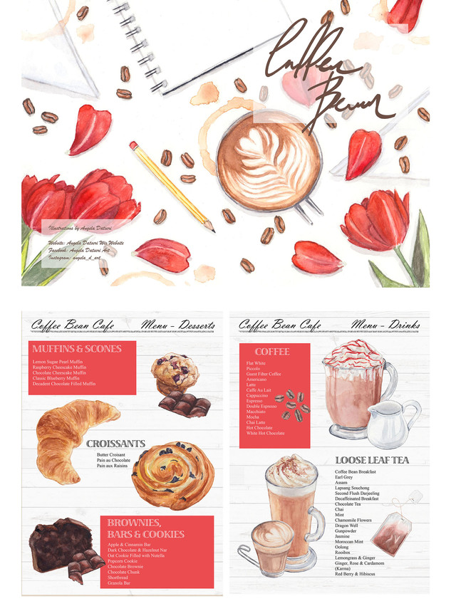 Personal Project - Cafe Menu