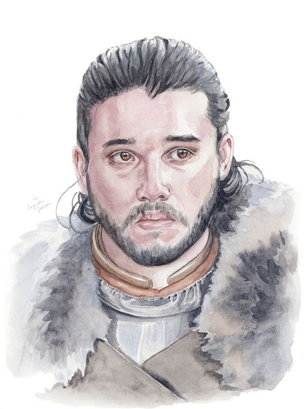 Kit Harington as Jon Snow from Game of Thrones